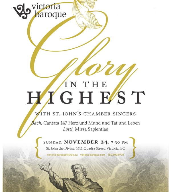 Glory in the Highest - Sunday, November 24, 2019